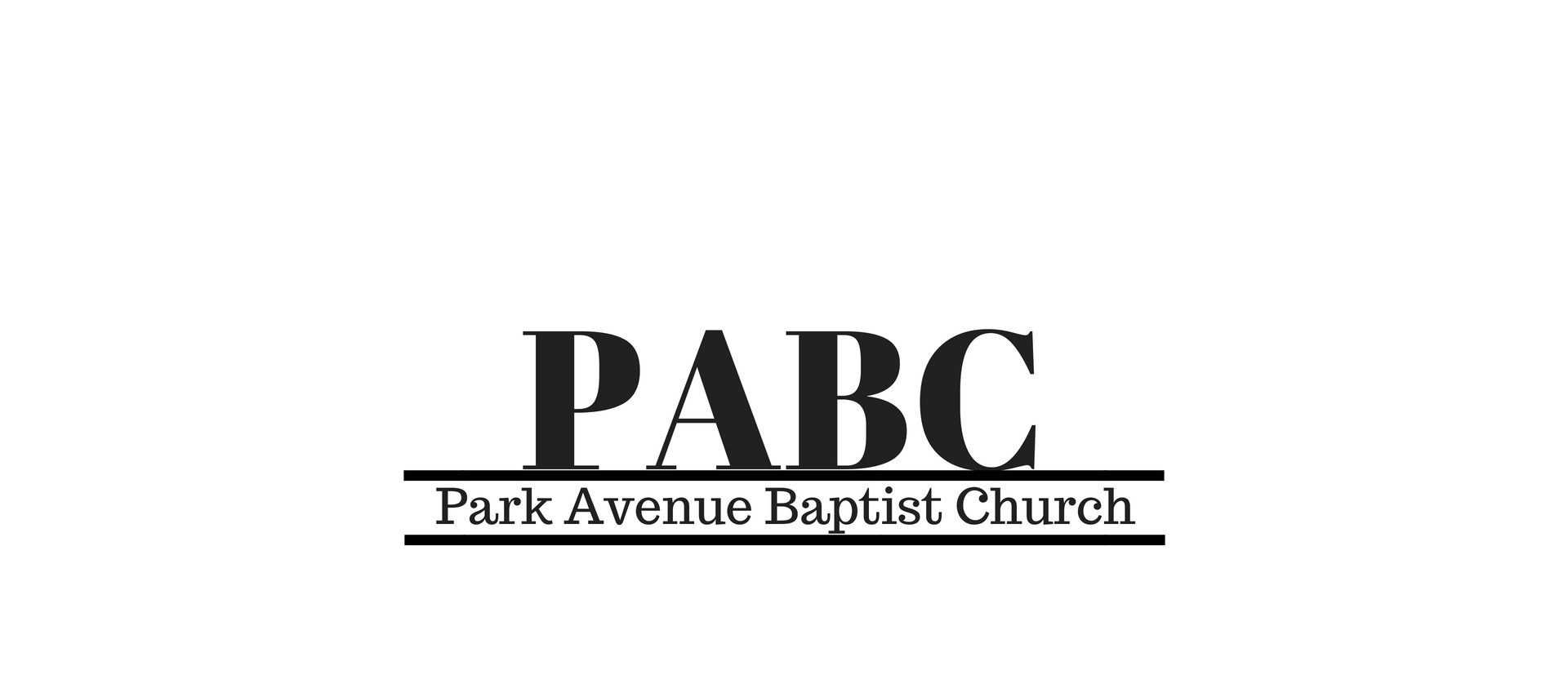 Welcome to Park Avenue Baptist Church